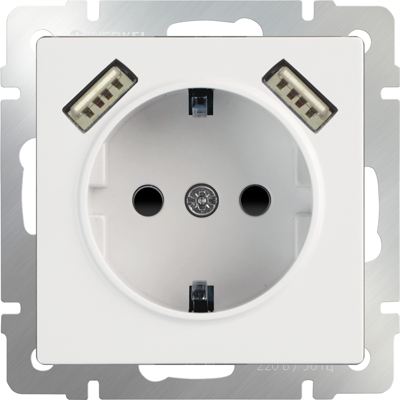 mechanism_white-socket-with-usb-and-protection